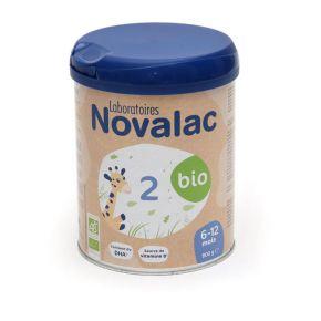 Novalac 3 lait de croissance Bio - 800 g