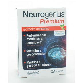 Neurogenius Premium Booster Cérébral - 60 comprimés