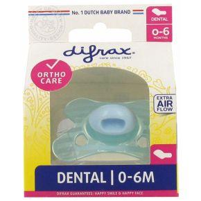 Difrax Sucette Dental - 0 à 6 Mois